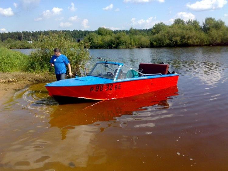 Какая лодка для рыбинского вдх