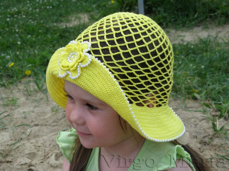 Мастер класс по вязанию детских шляпок