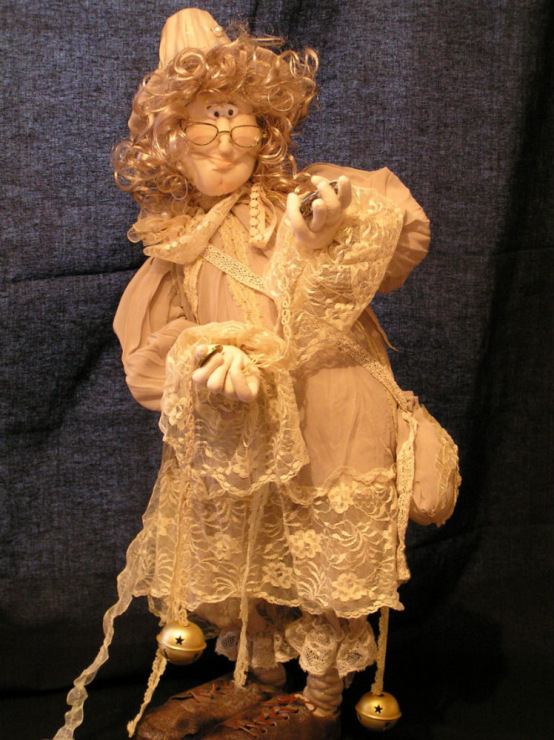Куклы скульптурные своими руками мастер класс6