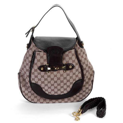 Gucci Grey New Pelham Large Shoulder Bag