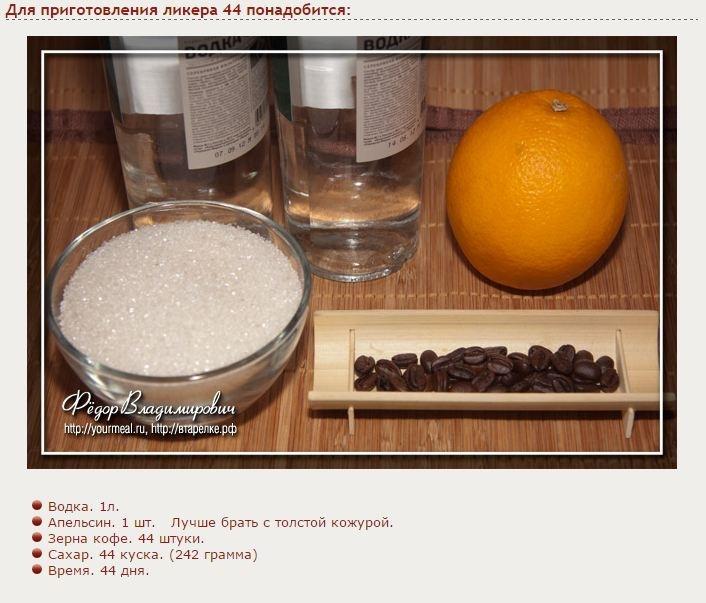 Как сделать наливку из апельсинов