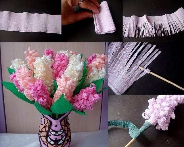Поделки своими руками красивого цветка