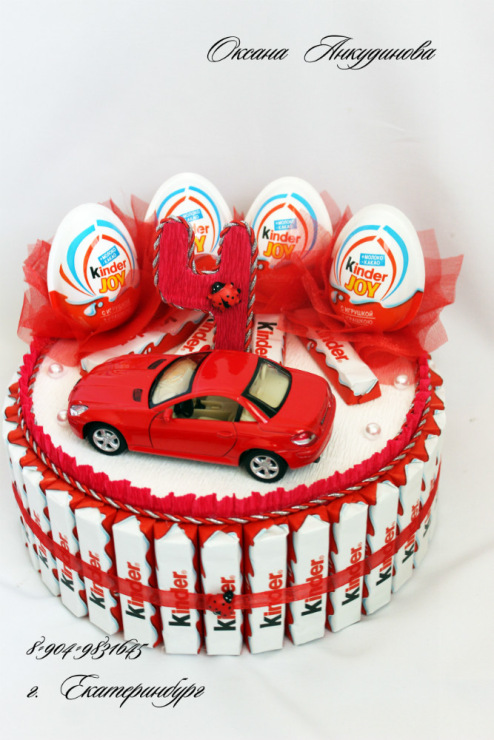 Тортики для мальчиков своими руками