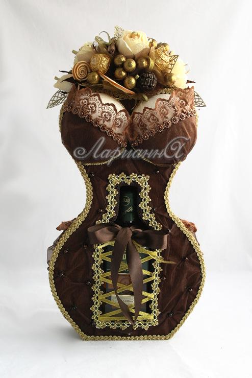 Дама с коньяком и конфетами своими руками