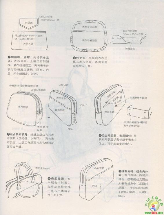 Как сшить сумку пэчворк выкройки 73