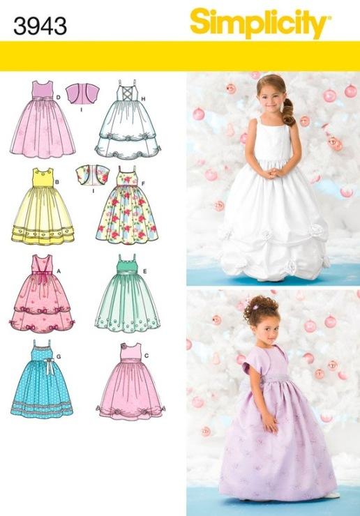 Нарядные детские платья выкройки 175