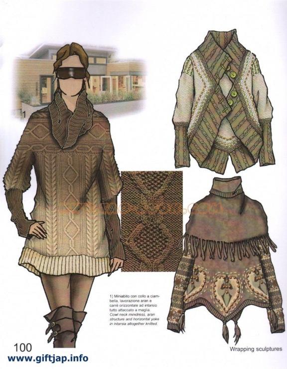 Мода по вязанным вещам
