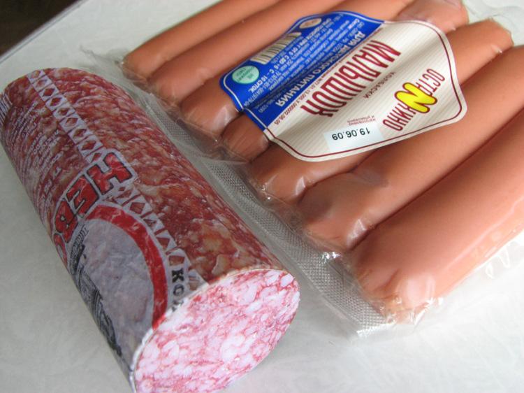 муляж колбасы своими руками винтовых сваях можно