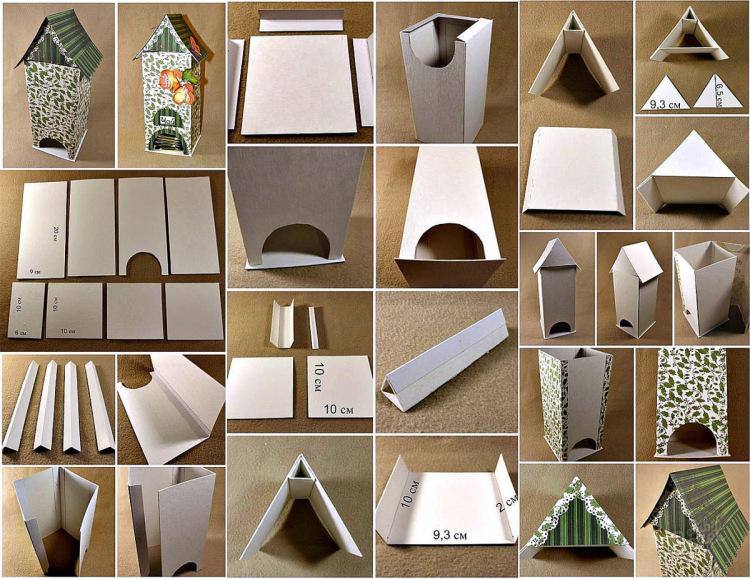 Домики для чайных пакетиков