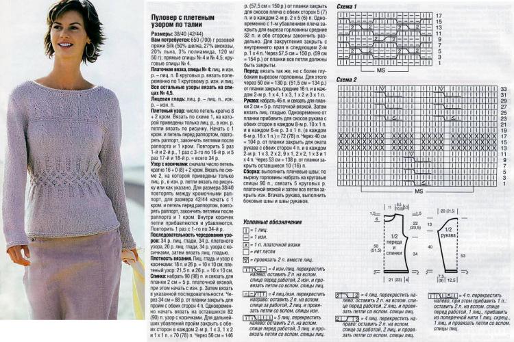 Простой способ вязания свитера спицами