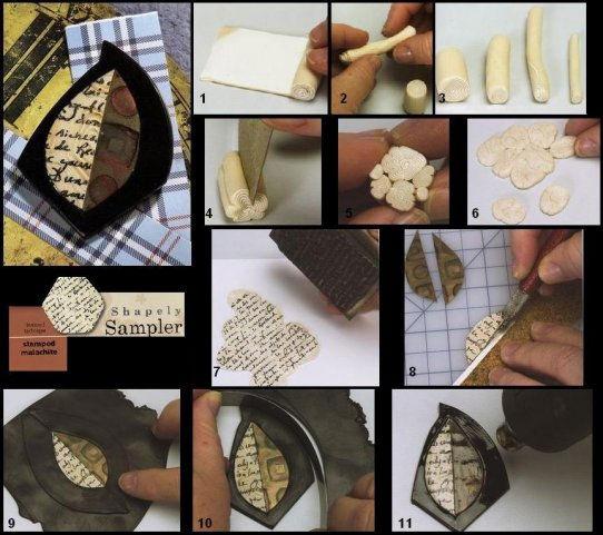 Как запекать глину полимерную в домашних условиях
