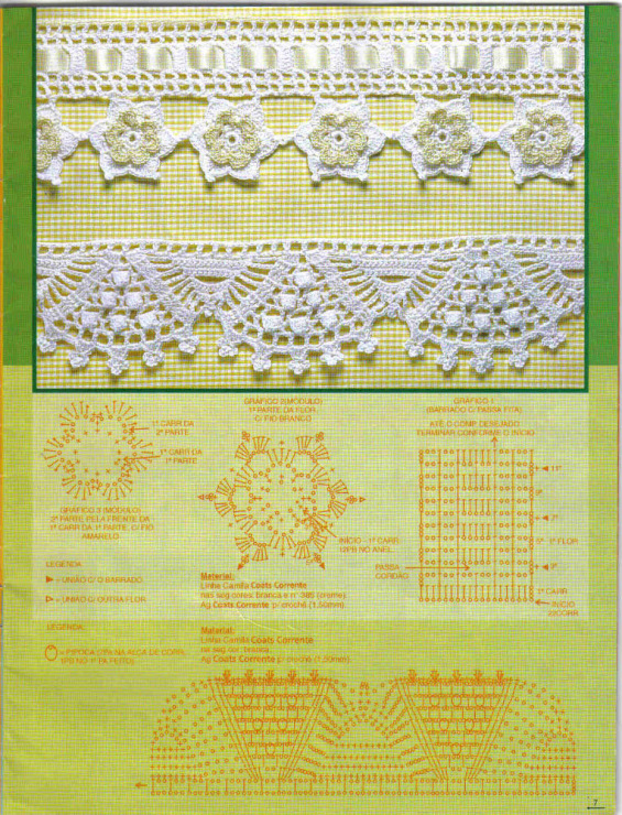 Фото вязаных изделий крючком схемы